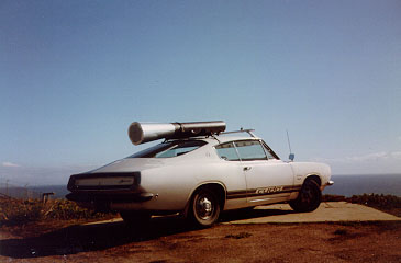 "TYPICAL ""GUN CAR""  - California, 1984"